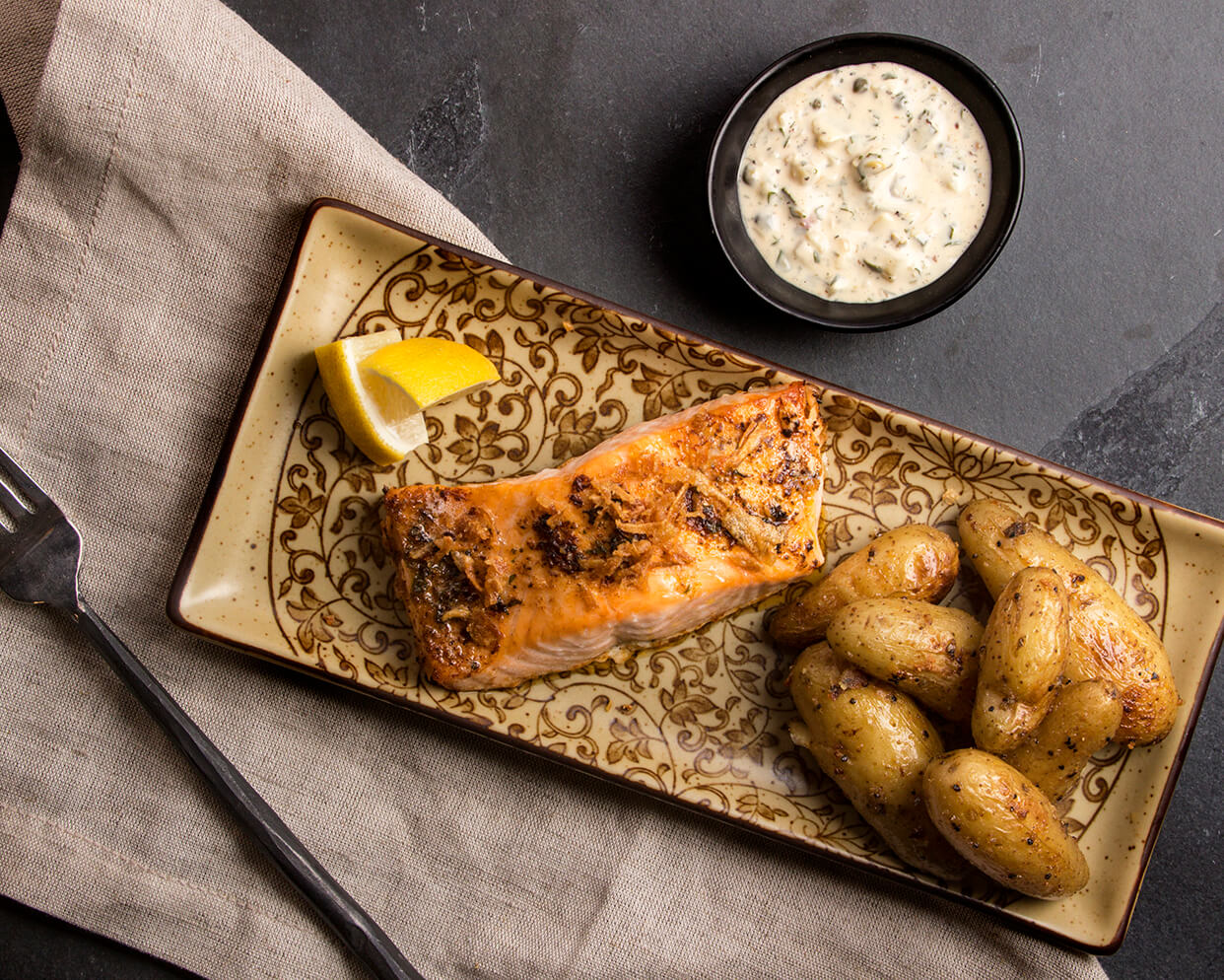 Chesapeake Bay Roasted Salmon