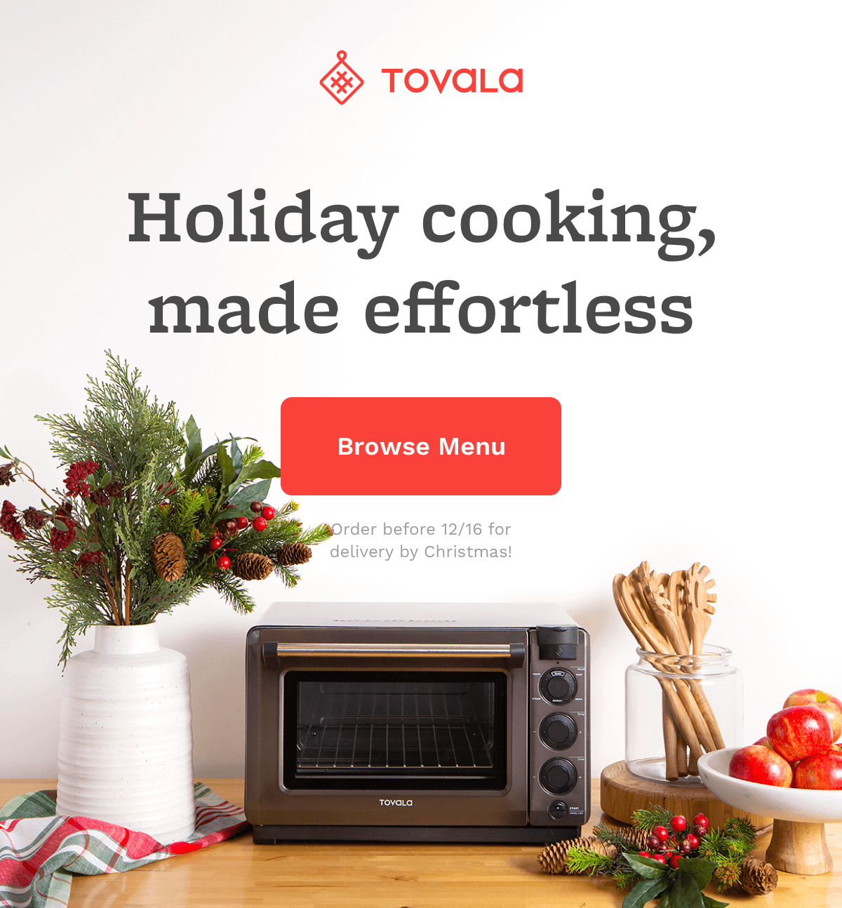 Holiday cooking, made effortless